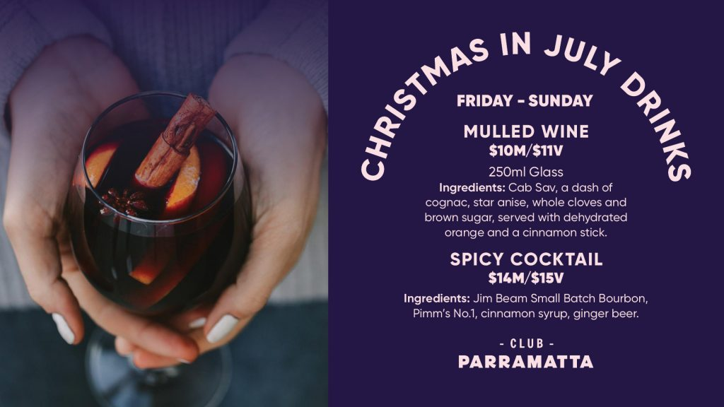 Christmas in July drinks