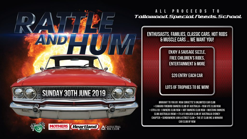 Rattle and Hum Car Show