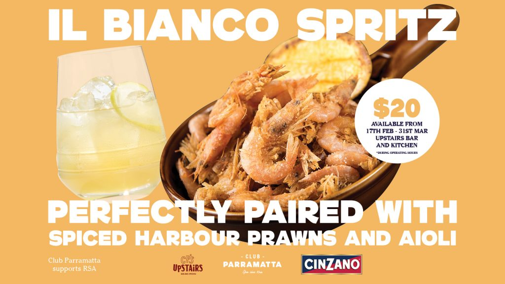 Spritz Food Pairing promotion