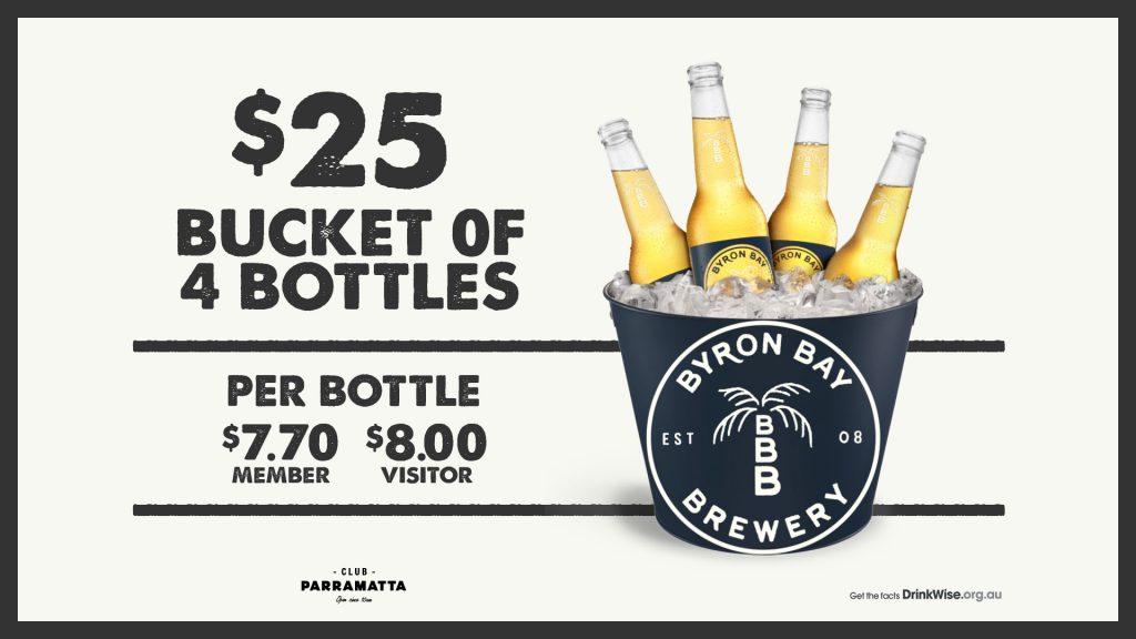 Byron Bay Brewery bucket