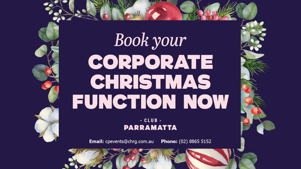 Corporate Christmas Functions