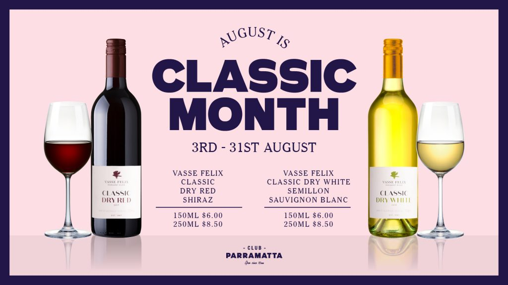 August is ClassicMonth