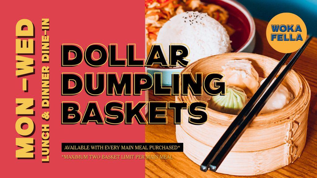 Dollar Dumpling Baskets
