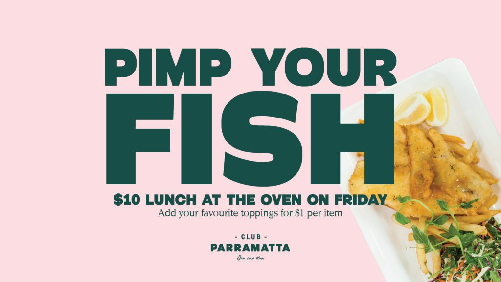 Friday Lunch Special $10 Fish