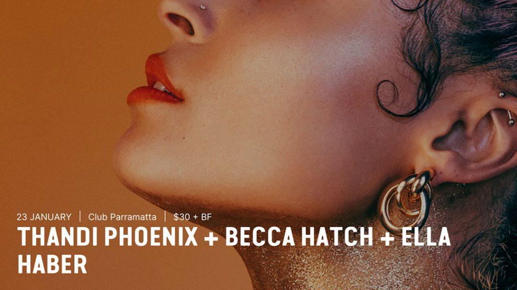 Thandi Phoenix + Becca Hatch + Ella Haber