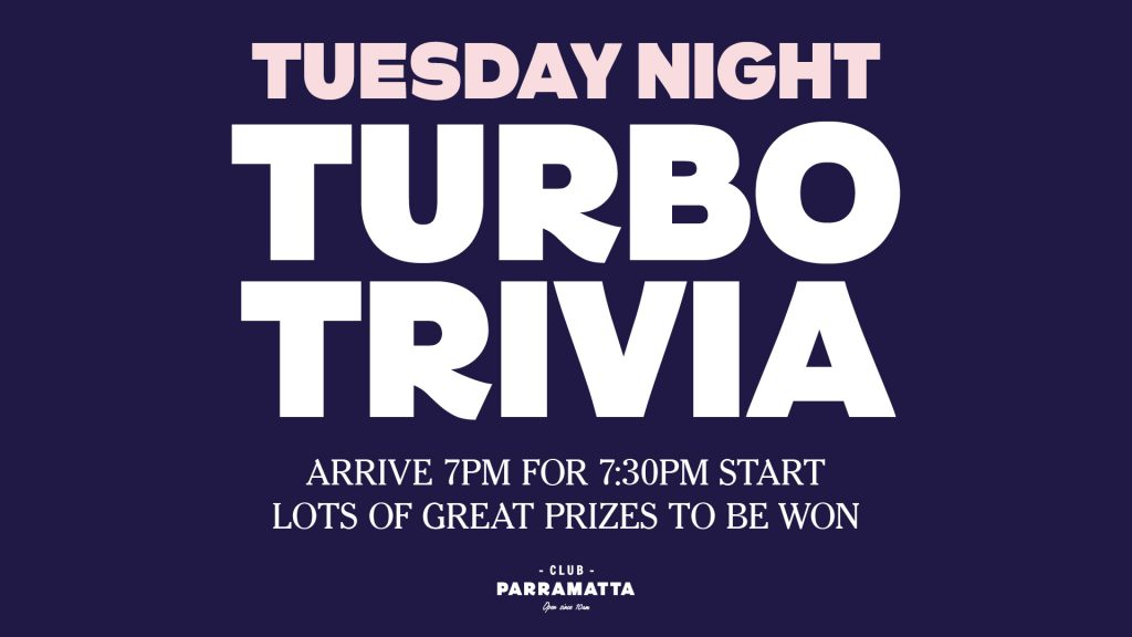 Tuesday Night Turbo Trivia
