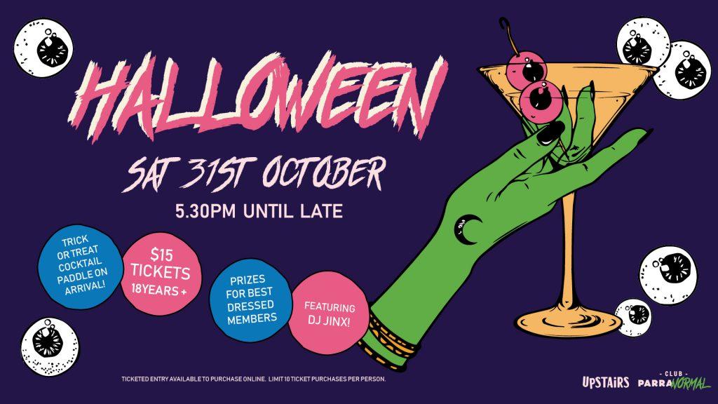 ParraNORMAL Halloween event