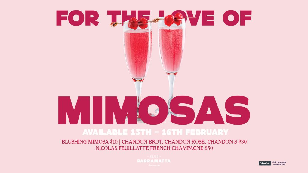 Valentine's Day Mimosas