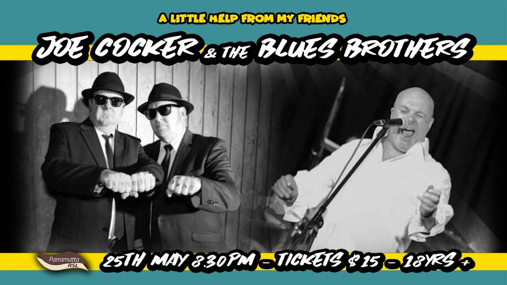 Joe Cocker and The Blues Brothers