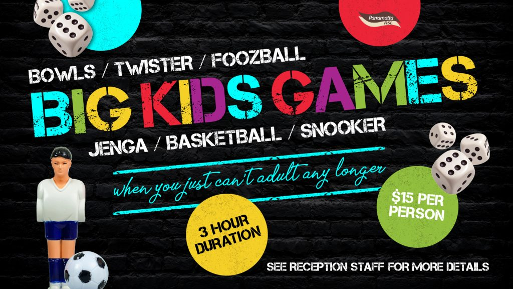 Big Kids Games Package