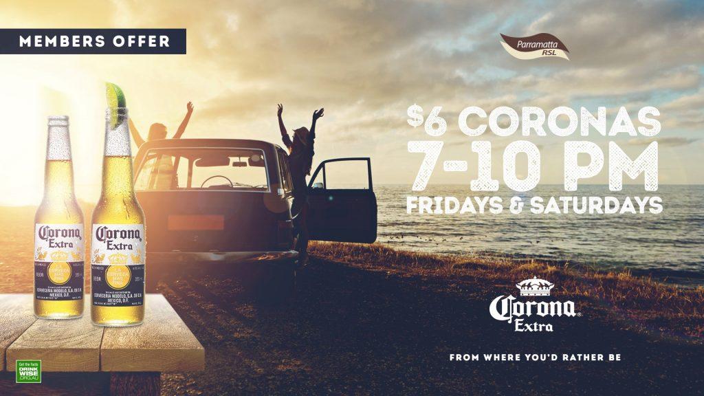 $6 Coronas