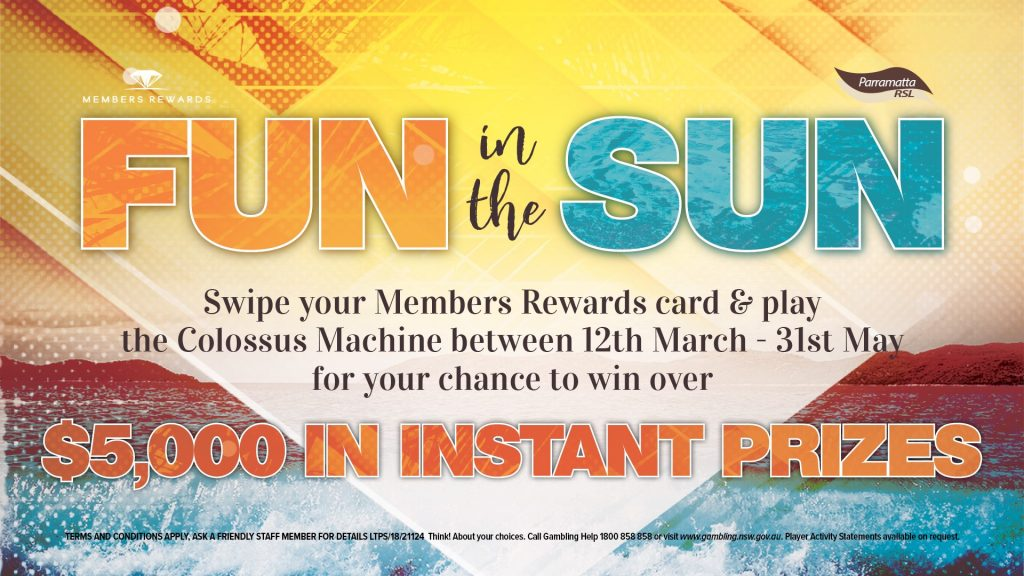 Fun in the Sun Colossus Promotion