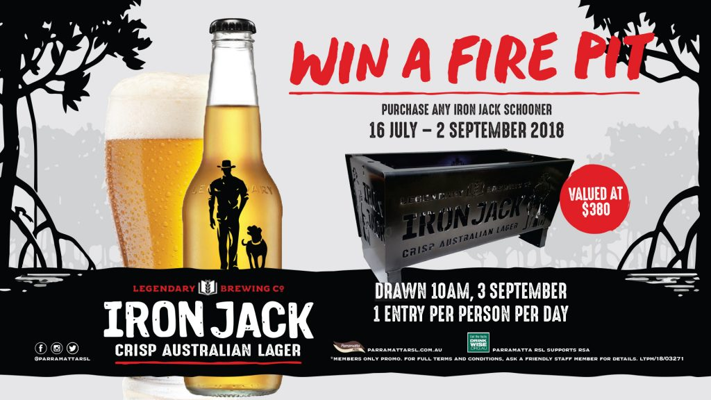 Win An Iron Jack Fire Pit
