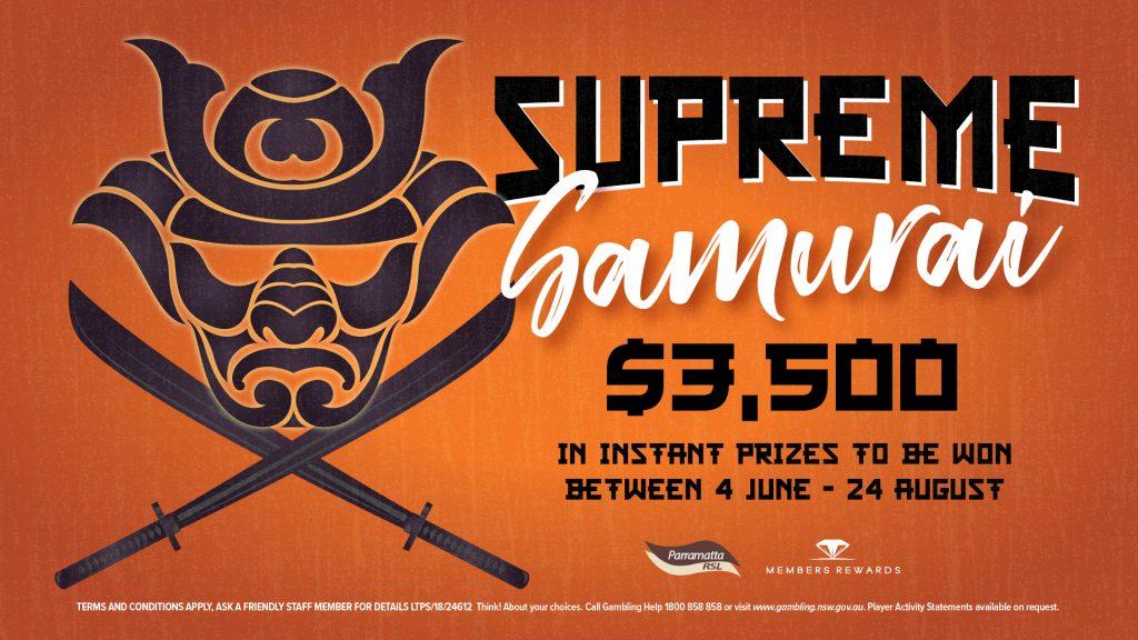Supreme Samurai Colossus Machine Promo