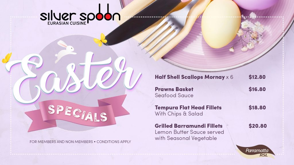 Silver Spoon Easter Specials
