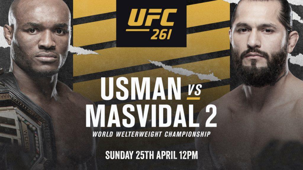 UFC261 Usman vs Masvidal 2