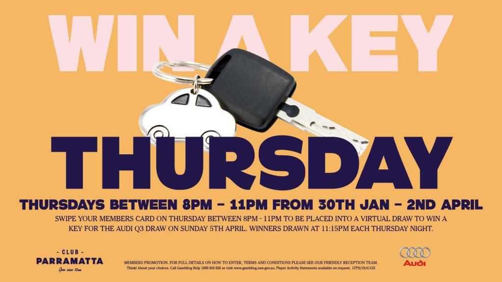 Win a Key Thursday